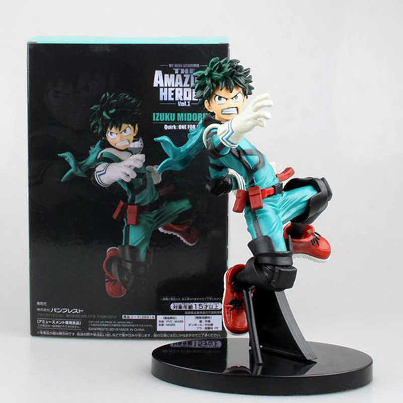 Mijn Hero Academia 3rd Ver. Todoroki Shoto Bakugou Katsuki Izuku Midoriyapvc Action Figure Geen Hero Deku Collectible Model 3 Stijlen