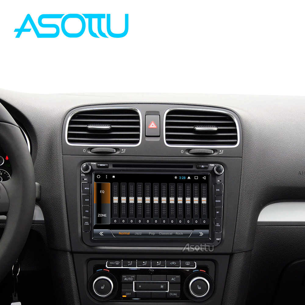 Asottu KCDZ8071 2G + 32GB 1024*600 reproductor de dvd del coche para skoda VW POLO GOLF 5 6 PASSAT CC JETTA TIGUAN TOURAN Fabia Caddy gps player