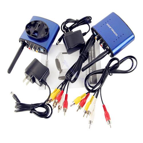 Útil PAT-630 5.8 GHz AV Wireless Transmitter Receiver Sender Audio Video