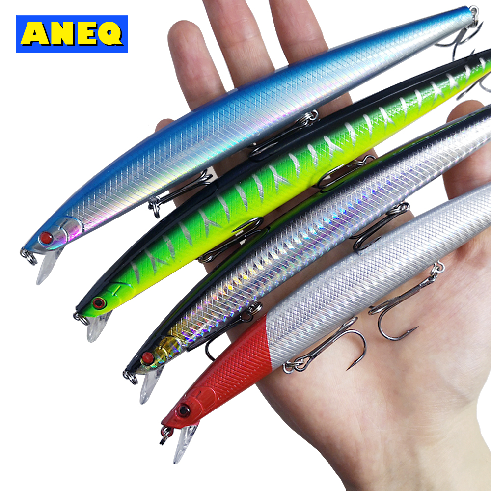 Fishinapot 1pcs Model 18cm 23g Minnow Fishing Lure Hard Tackle Print Laser Artificial Bait Boat Jig