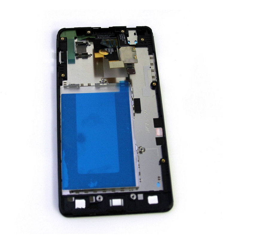 ФОТО For New LG Optimus G LS970 LCD Touch Screen Digitizer Housing With Frame Assembly (Send two  protective touch)