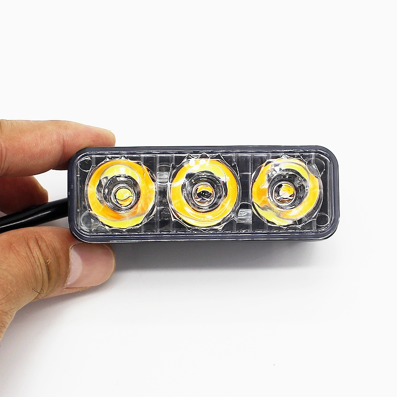 Yituancar 2Pcs / 9W 87MM LED DRL Gündüz işləyən İşıq DC12V - Avtomobil işıqları - Fotoqrafiya 3