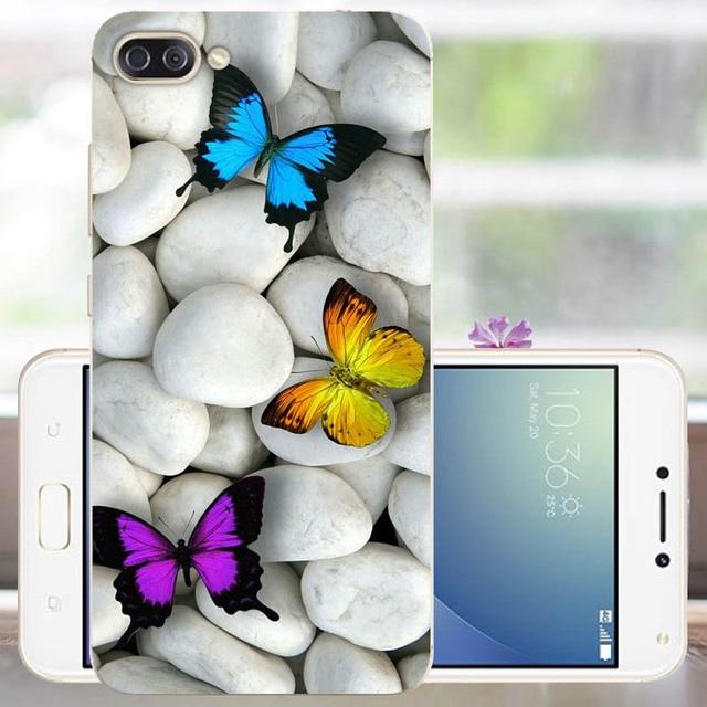 Coque de téléphone antichoc FANATU arrière peint ASUS Zenfone 4 MAX étui Silicone Coque de téléphone 5.5 pouces pour Coque Asus 4Max étui Fundas