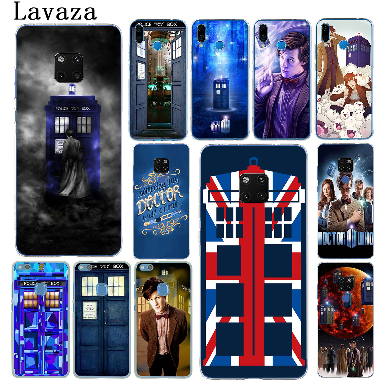 Cellphones & Telecommunications Hello Sweetie Doctor Who Phone Cases For Huawei P10 P20 Lite Mate 10 20 Lite 20 Pro Honor 8x 9 Lite Soft Silicone Black Cases