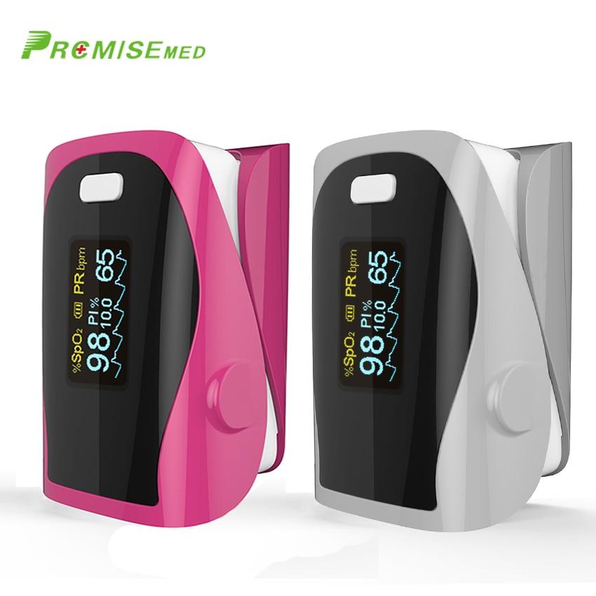 PRO F9 red gray Finger Pulse Oximeter Heart Beat At 1 Min Saturation Monitor Pulse Heart