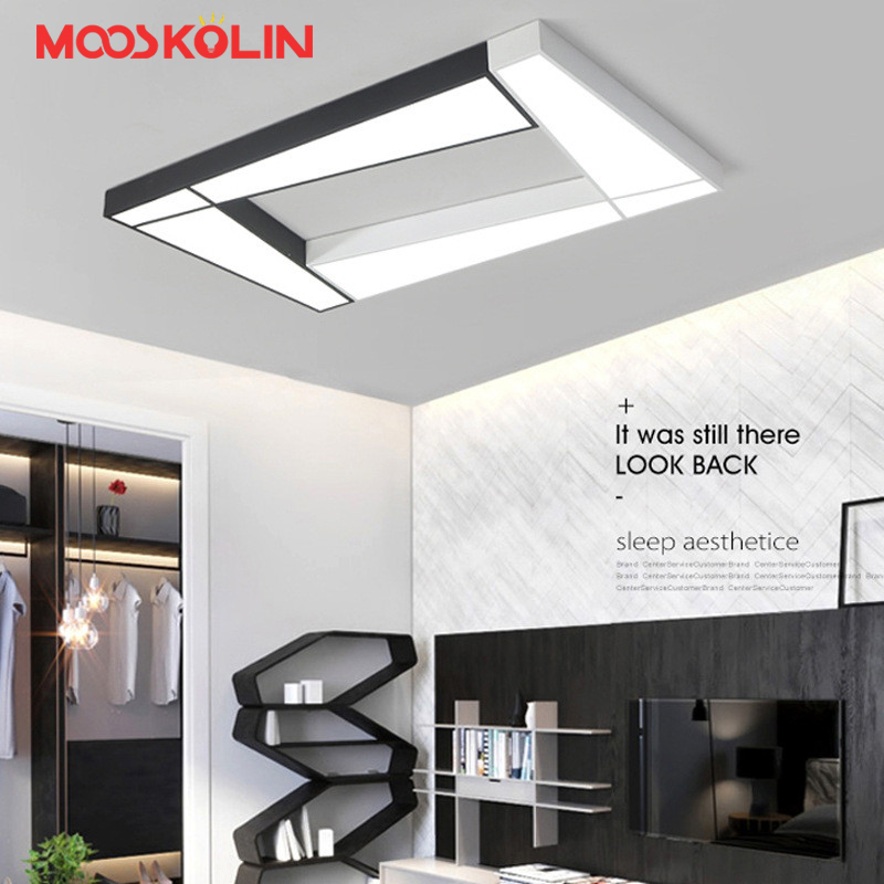 NEW Modern Design Ceiling Light Bedroom Living Room 90~260V White/Black Ceiling Lamp LED Home Lighting Light Fixtures plafonnier black and white round lamp modern led light remote control dimmer ceiling lighting home fixtures