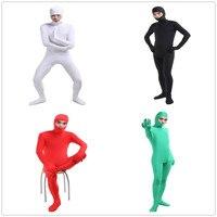 Lycra otwarta twarz zentais garnitury kostium halloween Kostiumy