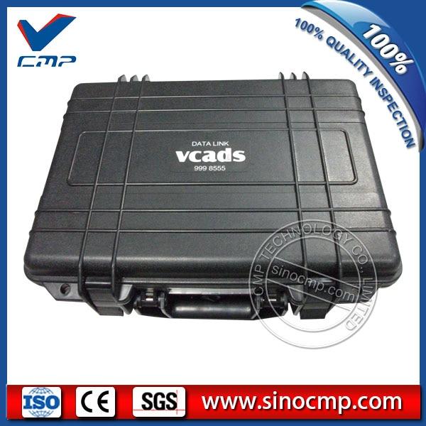Vcads e interfaz 9998555, escáner de diagnóstico de excavadora