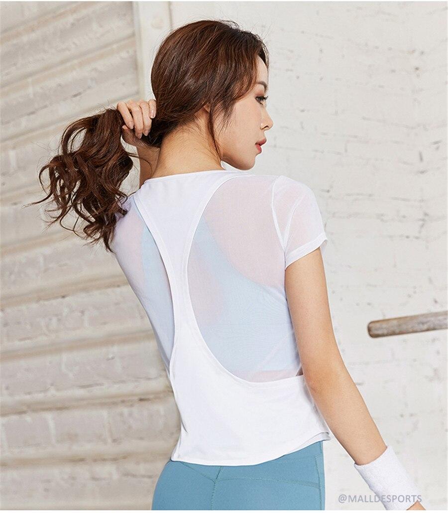 Camisas 2 em 1 Esportes Tops Secagem