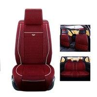 Новые роскошные льна универсальные чехлы сидений автомобиля для Suzuki alto ковровые покрытия escudo jimni liana всплеск sx4 wagon r kizashi Авто стиль