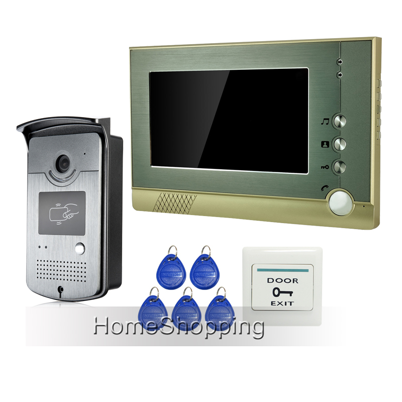 где купить  Free Shipping Home Doorphone 7