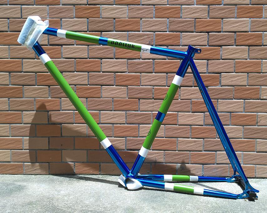 купить Original Euro Odditk 50cm 700c Crom steel fixed gear bike frame with fork недорого