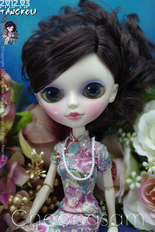 タンコウドール(中国女の子)をヘアisは取り外し可能なかつら  グループ上の おもちゃ & ホビー からの 人形 の中 1