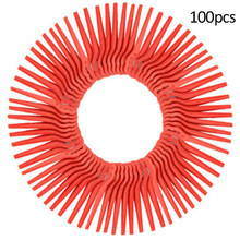 цена на 100pcs Swing Plastic Trimmer Blades Replacement Lawn Mower Blades for Garden Grass Trimmer Parts Garden Timmer