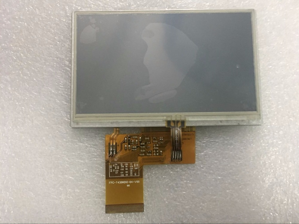 FPC-T430MINI-04-V00 4.3 Inch Lcd Screen 40 Pin With Touch Screen