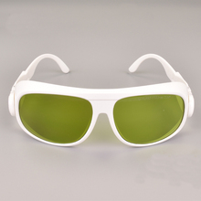 6+ 980nm 1064nm 1070nm laser safety glasses with ce and black bag cleaning colth high vlt