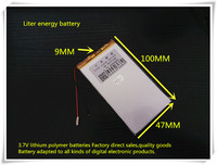 3 7V 6000mAH 9047100 Polymer Lithium Ion Battery Li Ion Battery For Tablet Pc Mp3 Mp4