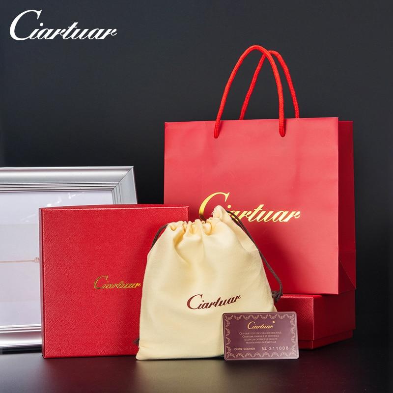 Ciartuar Belt Box Gift Bag Luxury High Quality Present Belts Box