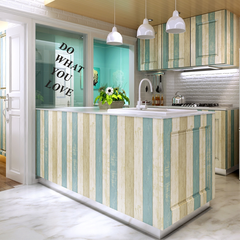 Кухня обклеенная самоклеющейся пленкой фото