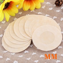 Hot 20 Pairs Disposable Round Style Non-woven Fabric Stickers Breathable Soft Nipple Breast Covers Sexy Device for Women