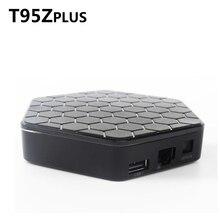 T95Z плюс ТВ коробка S912 Восьмиядерный cortex-A53 2 ГБ/3 ГБ Android 6.0 2.4 г 5 г двойной-Fi Bluetooth Коди Smart Media Player