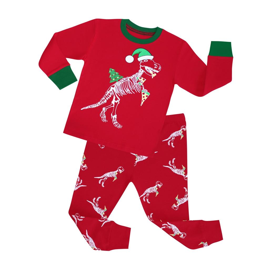 0b4cf3bd3 Brand New Baby Girls Reindeer and Snowflake Pajamas Sets Kids Cotton ...