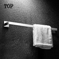 2014 Promosyon Yeni Beyaz Tutucu Havlu Tek Havlu Bar Tutucu Raf Banyo Aksesuarları Ürünleri Katı Sus 304 Krom (60 cm)