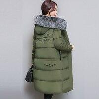 Women Winter Parka Wadded Jacket Long Thick Cotton Padded Coat Plus Size 3XL Winter Warm Parka