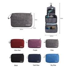 多機能収納袋オーガナイザー防水旅行ポータブル荷物オーガナイザー浴室化粧品メイクアップバッグ