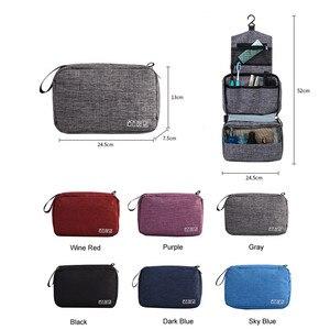 Image 1 - רב פונקציה אחסון תיק תלייה ארגונית עמיד למים נסיעות נייד מטען רחצה ארגונית מוצרי טואלטיקה קוסמטי איפור שקיות