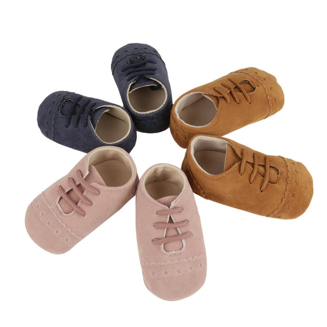 913ae84f47bba Aliexpress.com : Buy Baby Shoes Newborn Warm Nubuck Leather Slipper Kids  Booties Winter Moccasins Footwear Toddler Children Soft Sole First Walkers  ...