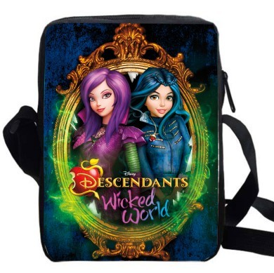 64d98b8376d TV Show Mal Carlos Evie Jay shoulder bag girls boys women crossbody bags  anime cartoon men