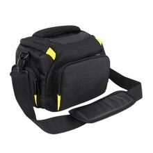 Waterproof Dslr Camera Bag Case For Sony A7 Ii Iii A7R2 A58 Nikon D7200 D7500 D3400 D90 P900 Canon 750D 200D 6D 5D Shoulder Ca цена и фото