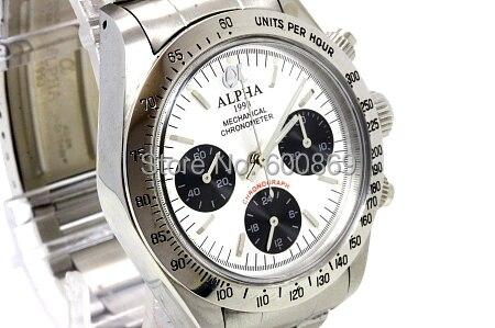 Klassische uhr stil mechanische chronograph uhr-in Mechanische Uhren aus Uhren bei  Gruppe 1