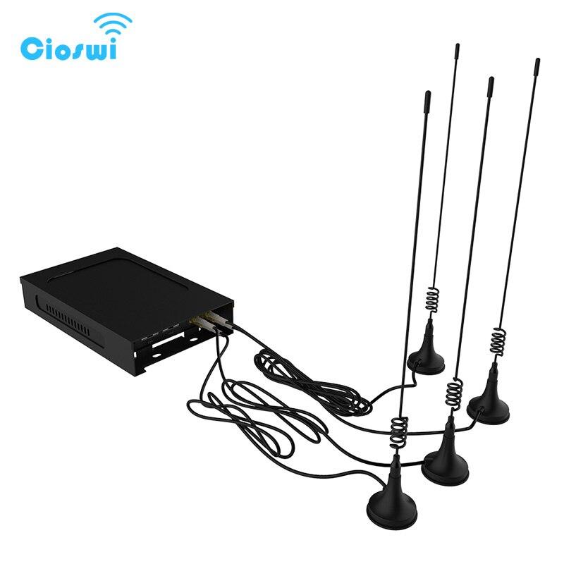 Router Wi Fi 300 Mbps 5dBi Esterno Antenne Auto/Bus 3g 4g Modem openWRT Vehicel Router Senza Fili a lungo Raggio Con Slot Per SIM Card
