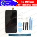 UMI Супер ЖК-Дисплей + Сенсорный Экран Digitizer + Рамка ассамблея 100% Оригинал Новый LCD + Сенсорный Дигитайзер для Супер + инструменты