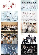 Kpop Bulletproof exo K-pop fotos Cards Poster Bangtan Ready Albums exo posta Card 10 Cards K pop exo Posters(China)