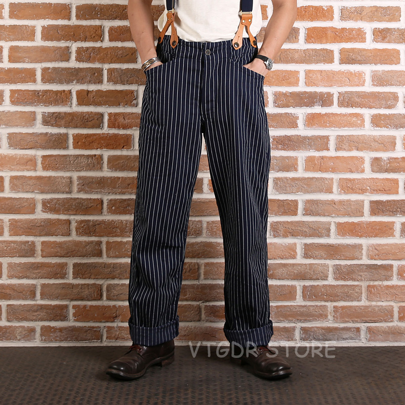 PUNK RAVE Mens Pants Gothic Fashion Retro Daily Peacock Button Casual High Waist Slim Fitting Trousers