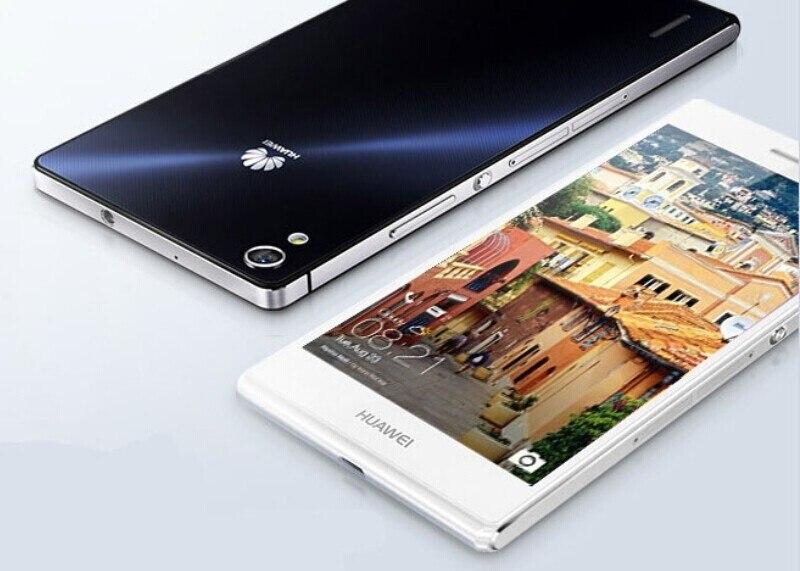 "Международная версия Huawei Ascend P7 L10 4G LTE мобильный телефон 4 ядра Android 4,4 5,0 ""FHD 1080X1920 2 ГБ оперативная память 16 ГБ Встроенная NFC"