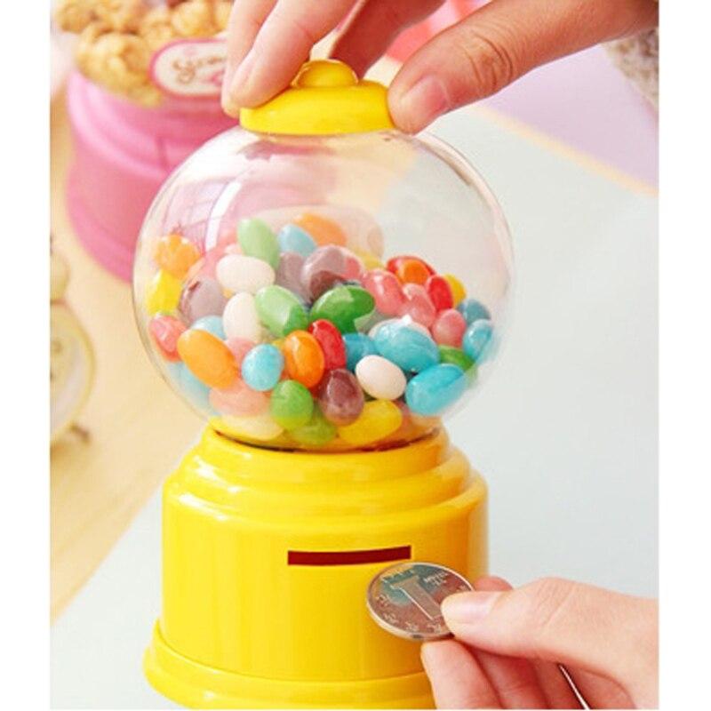사탕 기계 장난감 상자 아기 장난감 돼지 저금통 - 역할연기 - 사진 3