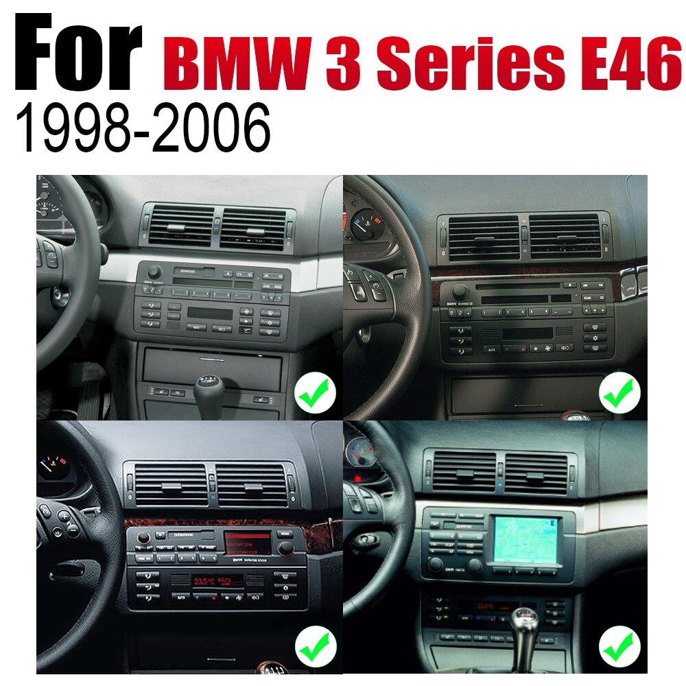מערכת ניווט GPS אנדרואיד רכב DVD GPS Navi עבור BMW 3 Series E46 1998 ~ 2006 שחקן ניווט WiFi מערכת Bluetooth Mulitmedia stere אודיו (3)