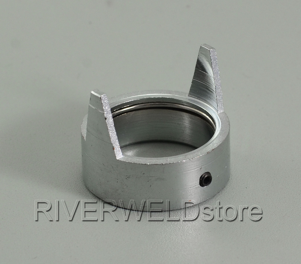 C1408 Double Pointed Spacer Prof 90 120&150 Double Retaining Cap Fit Cebora CP160 HP100 MP100 Plasma Torch