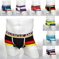 (5 pcs/lot)  2014 World Cup 8 Countries Men Boxer Shorts Underwear Boxers