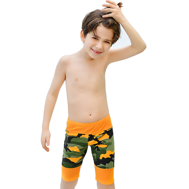 566a417901 Boys Beachwear Sports Bathing Sutis Kids Camouflage swimsuit Boys Swimsuits  Trunks Children Swim suit Kid Swimwear Pant