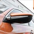 Для Honda Civic 10th 2016-2018 ABS пластик хром зеркало заднего вида украшение полосы крышки протектор Аксессуары Стайлинг автомобиля