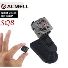 SQ8 Мини Камеры 1080 P 720 P HD Камера 12 М Инфракрасного Ночного видение микро камера motion sensor mini dv dvr видеокамеры маленький веб-камера