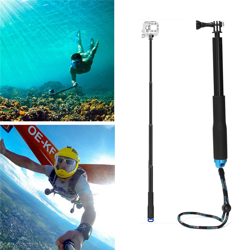 цена на Water Sports Diving 36 inch SP POV Pole Scalable Hand-held Selfie Stick Dive Since for the Camera Tripod Swimming Sports