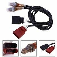 2 piezas Set Sensor de oxígeno O2 frontal y trasero ForVW para Golf para Jetta para Audi TT Automotive OE piezas de repuesto sensor de oxígeno de 2 piezas