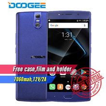 DOOGEE BL7000 Smartphone Android 7.0 7060mAh 12V 2A 5.5'' FHD MTK6750T Octa Core 4GB+64GB Fingerprint Dual 13.0MP camera phone(China)