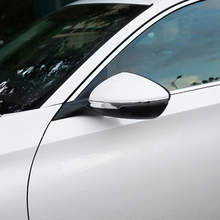 For Honda Accord 10th 2018 2019 Accessories ABS Chrome Car Side Door Rearview Mirror Decoration Strip Car Styling 2pcs car styling auto side skirt car abs chrome side body door decoration trim accessories for honda civic 10th 2016 2017 2018 2019